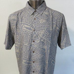 Quicksilver Button Front Shirt Waterman Collection